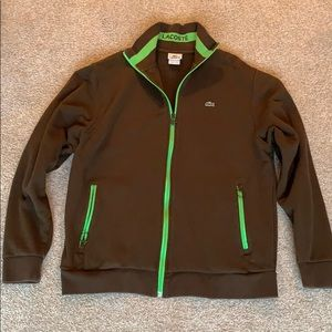 Men's size 7 Lacoste zipped jacket